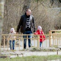 На прогулку с папой :: Светлана Сарбей