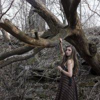 Дама на графских развалинах :: Ирина Асеева