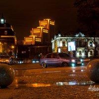 ночная площадь :: Aleksandr Zabolotnyi