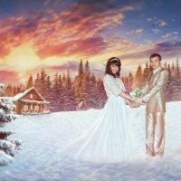 Зимняя сказка :: Анастасия Воробьёва