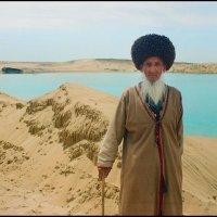 """""""Старик и ...озеро"""" :: Ахмед Овезмухаммедов"""