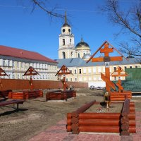 монастырское кладбище :: Андрей Чазов