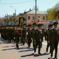 Пограничники после парада. :: Алексей Жуков