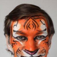 Аквагрим Тигр :: Никола Н