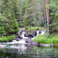 Рускеальский водопад :: Николай