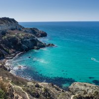 Море вблизи мыса Фиолент :: Александр Гапоненко
