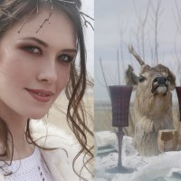 Deer wedding :: Ольга Дитрих