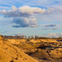 Облако над каньеном... :: Юрий Стародубцев