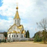 Храм Воскресения Христова в Катыни :: Милешкин Владимир Алексеевич