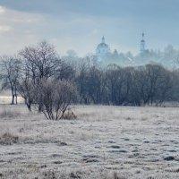 В утренней дымке. :: Алексей Ковынев