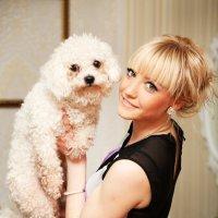 дама с собачкой :: Анюта Плужникова