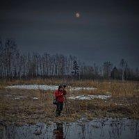 Фотосессия при луне :: Валерий Талашов
