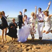 Свадьба на Азовском море :: Виктор Мирошниченко