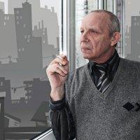 За окном :: Лариса Коломиец