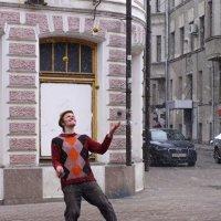 Арбатский жонглер :: Yuni Hawk