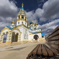 Храм в пос. Рублево :: Сергей Панков
