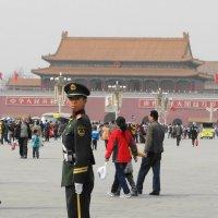 Солдатик на площади Тяньаньмэнь :: svk