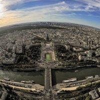 Закат в Париже... :: anatoly Gaponenko
