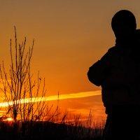 Я стоял на закате дня... :: Анатолий Клепешнёв