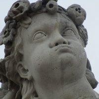 Забавное выражение памятника в Петергофе :: Людмила Жердева
