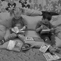 ...читальный зал... :: Ольга Нарышкова