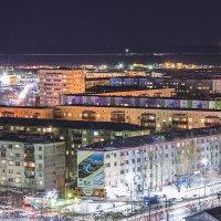 Ночной Нефтеюганск :: Олег Бондаренко