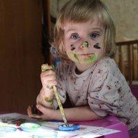 Юная художница :: Евгения Беркина