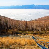 Выход к Байкалу :: Алексей Белик