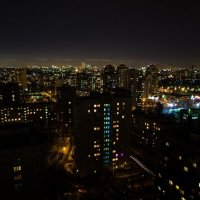 Москва с 16 этажа :: Алина Репко