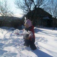 Игра со снегом :: Инна Буяновская