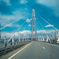 Мост на о. Русский. Владивосток. :: SergeuBerg