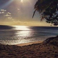 Карибский закат. :: Gene Brumer