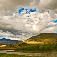 Берега реки Чуя. :: Олег Игуменов