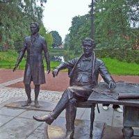 Скульптурная композиция «Зодчие». Скульптор Александр Таратынов :: alemigun