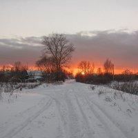 Зимний закат :: Александр Алекс