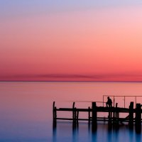 Рыбак на закате :: Андрей Володин