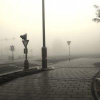 Туман в Абу-Даби :: Валентина Потулова