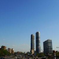 Городской пейзаж :: Igor Khmelev