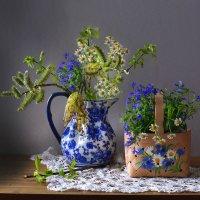 Великой нежностью апрель обременяет... :: Валентина Колова