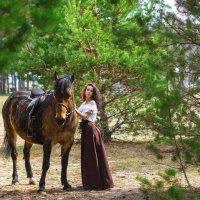 Прогулка на лошадях :: Светлана Мельник