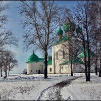 Церковь Сергия Радонежского на Красном холме Куликова поля :: Дмитрий Анцыферов