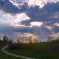 По дороге с облаками... :: Валентина Данилова