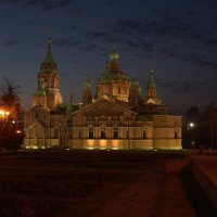 Храм Александра Невского на Алом поле :: Натали Акшинцева