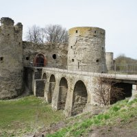 Северная и Южная башни крепости Копорье :: Елена Павлова (Смолова)