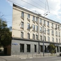 Плоский дом в Москве :: Михаил Трофимов