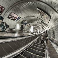 И тут пауза на эскалаторе... :: Ирина Данилова