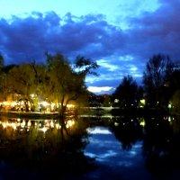 Вечер в Городском парке. Саратов :: Диана Бурлаченко