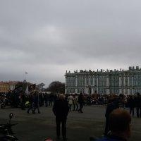 перед построением колонны :: Евгения Чередниченко