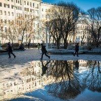 Чистые Пруды, весна :: Ксения Исакова