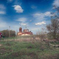 Сельская церковь. :: Александр Селезнев